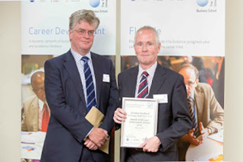 Open University Alumnus of the Year 2014 Jeremy Roebuck!