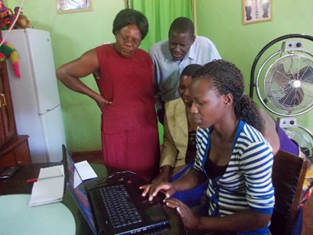 New lap tops enable the gift of business learning in Ntcheu, Malawi