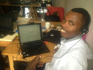 Recruiting clients in Rwanda